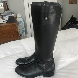 Frye Riding Boots -Black- Size 10